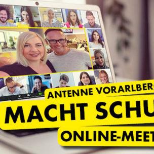 ANTENNE VORARLBERG macht Schule! Besucht uns mit eurer Schulklasse jetzt völlig virtuell!
