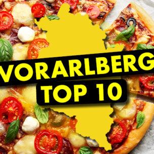 Die Vorarlberg TOP 10! Jetzt hier abstimmen: Wir suchen die TOP 10 der besten Pizza in Vorarlberg!