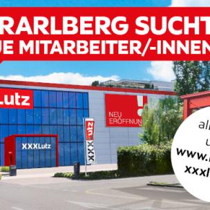 XXXLutz in Vorarlberg sucht Mitarbeiter (m/w/d)