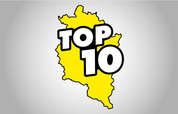 Jede Woche neu: Die Vorarlberg TOP 10!