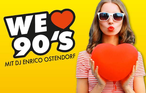 ANTENNE VORARLBERG – We love 90's mit DJ Enrico Ostendorf auf der Sonnenkönigin!