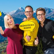 NEU ab 5 Uhr: Das ANTENNE VORARLBERG – Frühstücksradio! Mit Martin Veith und dem Wir lieben Vorarlberg-Team!
