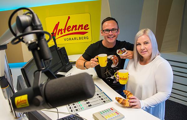 Die ANTENNE VORARLBERG – Freitags-Frühstücks-Firma!