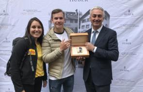 Clemens aus Bregenz findet bei Schatzsuche wertvolle Uhr