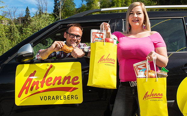 Das ANTENNE VORARLBERG – Frühstücksradio On Tour!