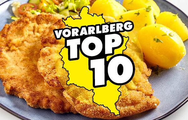 Die Vorarlberg TOP 10: Schnitzel