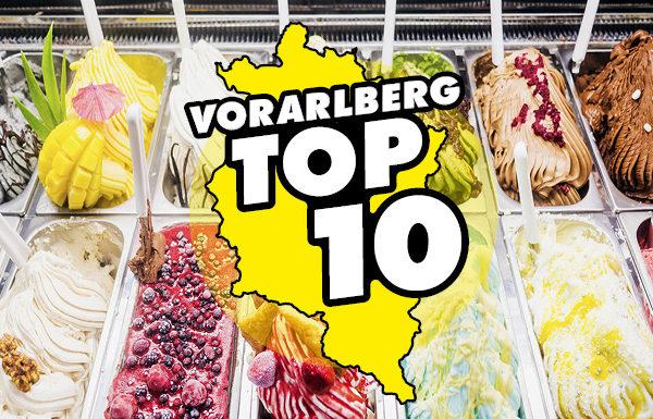 Die Vorarlberg TOP 10: bestes Eis