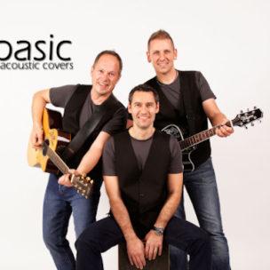 Basic – Acoustic Covers am Samstag, 11. Juli 2020 im Fohren Center in Bludenz!